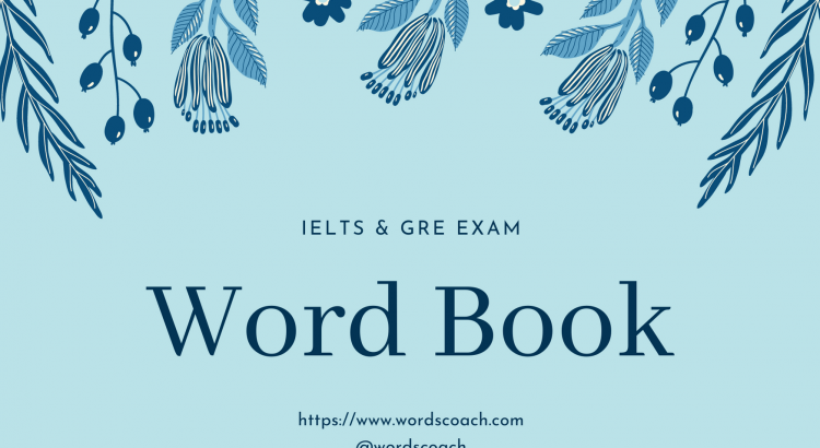 IELTS & GRE Word Book